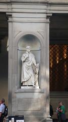 Uffizi - Dante (smshepard) Tags: italy florence uffizi