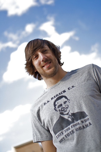Matt's Obama T-shirt