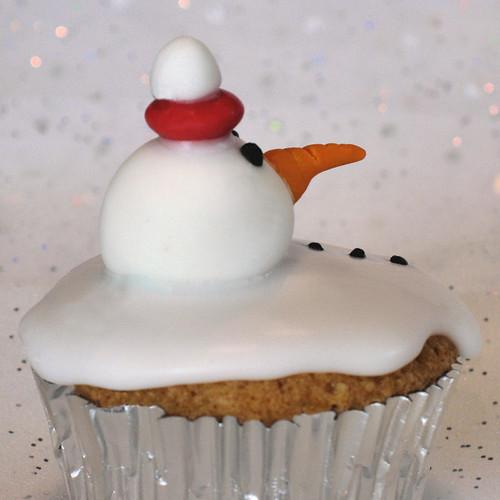 snowman cupcakes 5622 R