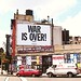 "John Lennon & Yoko Ono's ""WAR IS OVER!"" banner in Greenwich Village, NY, August '06 - 8"