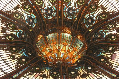 Art Nouveau dome