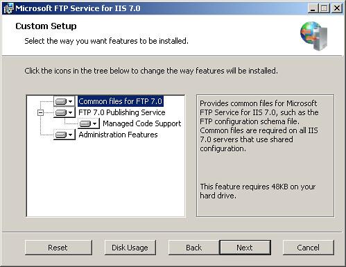 FTP7 telepítése
