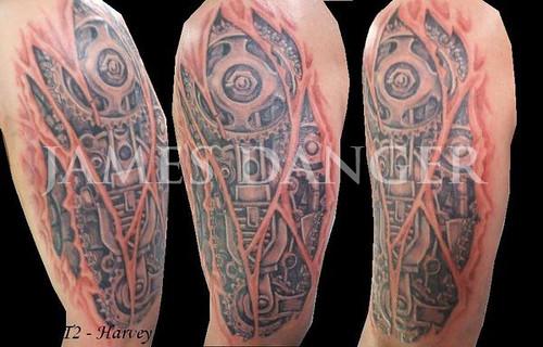 James Danger gears tattoo