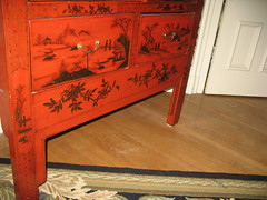 Detail, Antique Chinese Armoire