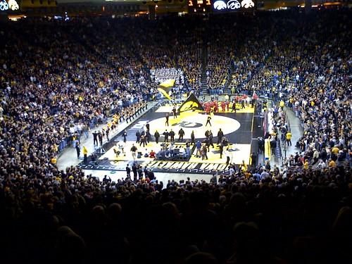 carver hawkeye arena. in Carver Hawkeye Arena