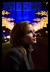 anita (plastikete) Tags: madrid luces noche moda modelo anita belleza navdad