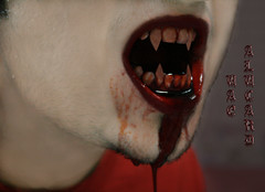 I'm flesh and blood, but not human. I haven't been human for two hundred years.    <<ppl plz read the end of the discription>> (Saoud Z. - - - AlcD) Tags: amazing flickr dubai vampire teeth uae dracula fangs alucard vamp fang