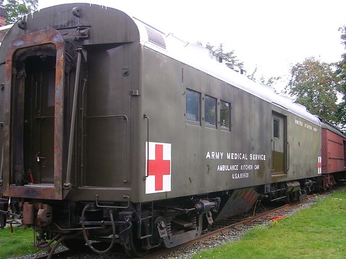 Army Ambulance Kitchen Car