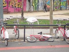 Bicing vandalitzat