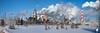 Esso Refinery Panorama 2 (Dcysiv Moment) Tags: winter sky snow field skyline energy edmonton smoke steam alberta oil production strathcona refinery