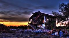 Popash School Sunrise 2009 (tantrum_dan) Tags: county school abandoned sunrise florida olympus hdr hardee wauchula popash e520 tantrumdan tantrumimagery
