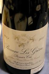 2001 Domaine Yves Darviot, Beaune 1er Cru, Les Greves