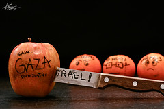 """324\365   GOD SEND JUSTICE (""""Anwaar) Tags: world apple canon 50mm israel is justice sad little earth palestine crying may knife save 100mm whole arab send daisy them oranges muslims attacks allah gaza extremely anwar 400d goldstaraward"""