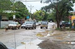 Principal calle de Tamarindo Costa Rica