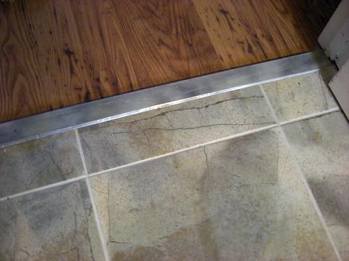 Kitchen Tile Floor Threshold A Photo On Flickriver
