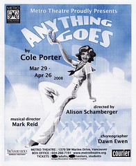 Anything Goes program cover