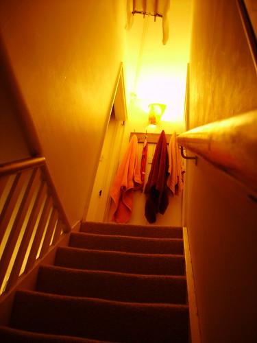 stairwell to inner sanctum