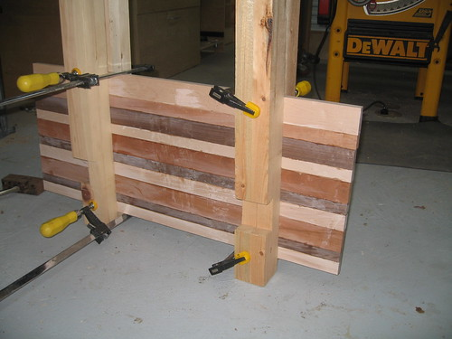 Cutting Board Glue Up 1