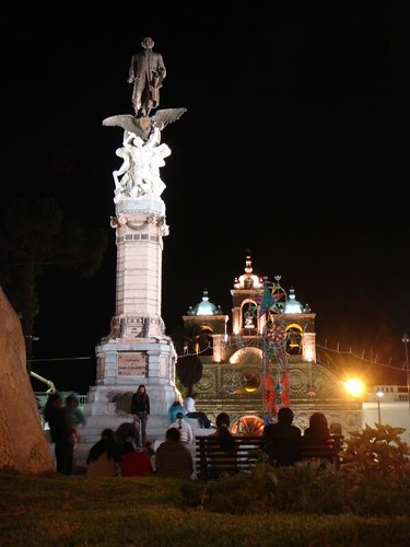 Riobamba by night...