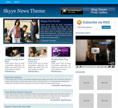 9 Skyye News Theme