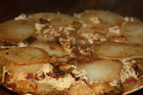 Leek / Potato & Chorizo Frittata