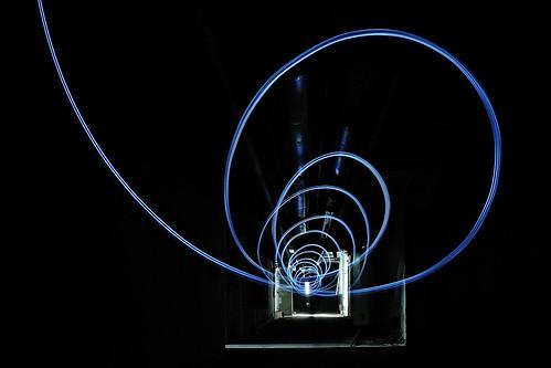 Lichtspiele im Keller