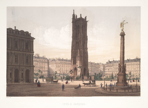 002- Paris-Torre San Jacques 1858
