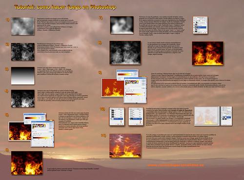 Tutorial: hacer fuego en Photoshop
