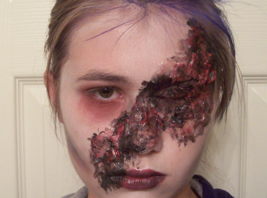Burn Scar Makeup Scar Makeup Arabic Make Up Pictures