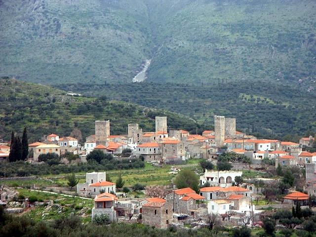 Πελοπόννησος - Λακωνία - Δήμος Ανατ. Μάνης Φλομοχώρι, Μάνη
