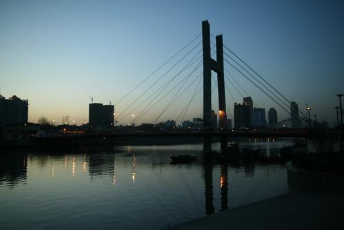 海河刘庄桥