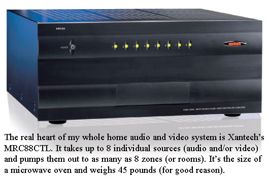 Xantech MRC88 Whole Home A/V Distribution System