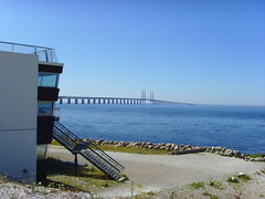 RESUNDSBRIDGE BETWEEN MALM & CPH (Miss Lorenita) Tags: malm resundsbron resundsbridge