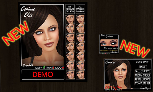 "New Skin ""Corinne"" @ Yourskin & Yourshape Shop"