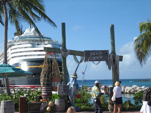 Castaway Cay - Arrival Plaza 14