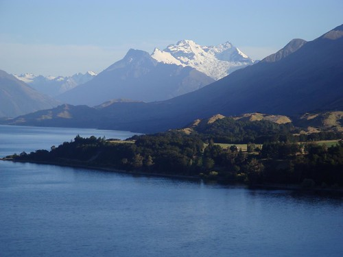 Lake Wakatipu and Mt. Earnslaw