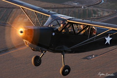 Stinson L-5 Sentinel (Champion Air Photos) Tags: aviation stinson airtoair l5