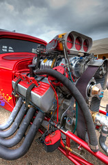 Hot Rod at the fair (John_Kennan) Tags: liverpool mechanical engine jetstream hotrod hdr highdynamicrange dragster crowneplaza speke aviationfair 1635mmf28lii spekeaerodrome jetstreamclub