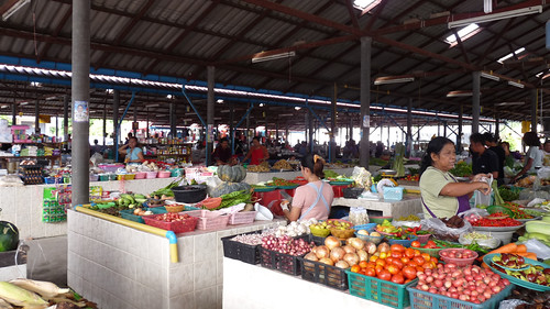 koh Samui Maenam Fresh market コサムイ 朝市4