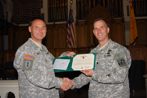 Maj. Ben Smith honored