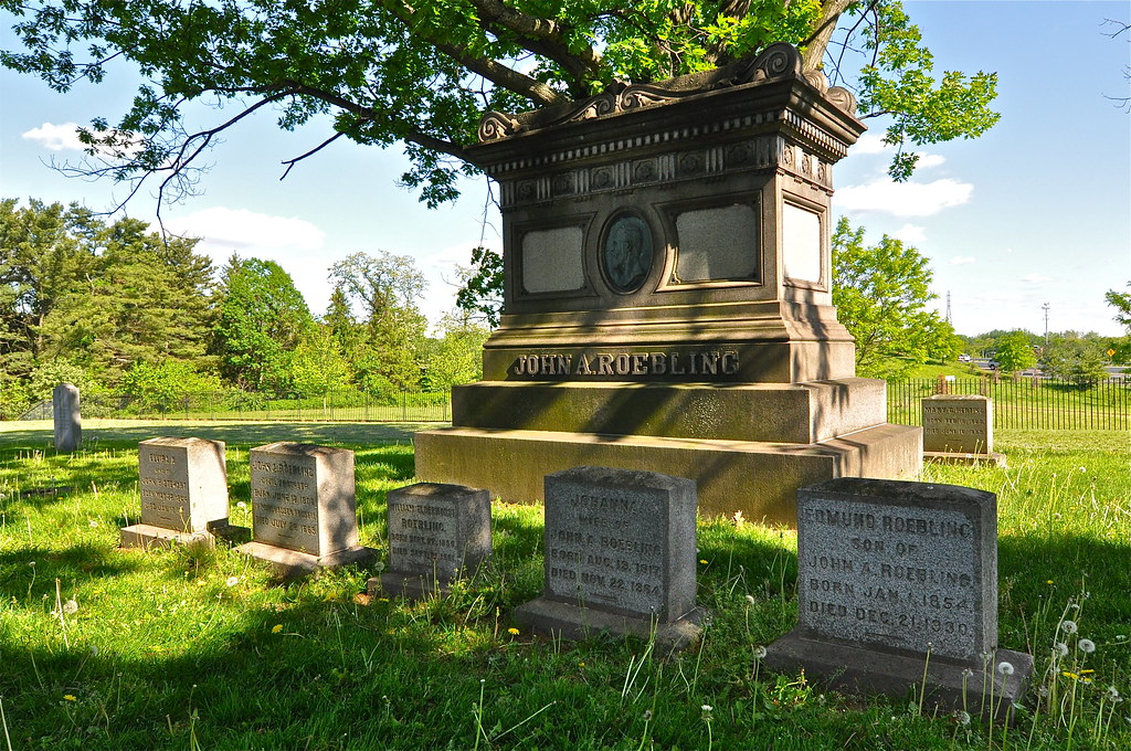 Final Resting Place Of John A. Roebling Maker Of The Brooklyn Bridge