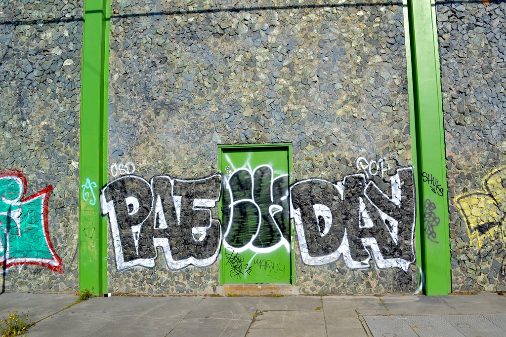 PAEDAY, PAYDAY, POP, Graffiti, Oakland, Street Art