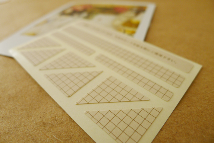 Midori double-sided sticker