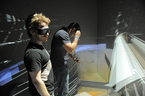 Seth Green Visits Goddard Space Flight Center