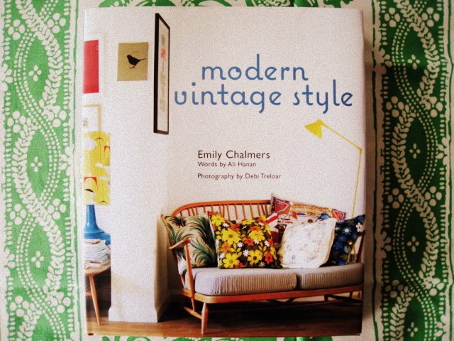 "Retrofriday...with the magical book ""modern vintage style"" by Emily Chalmers"