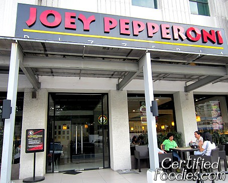 Joey Pepperoni Pizzeria at Pioneer Street in Mandaluyong - CertifiedFoodies.com