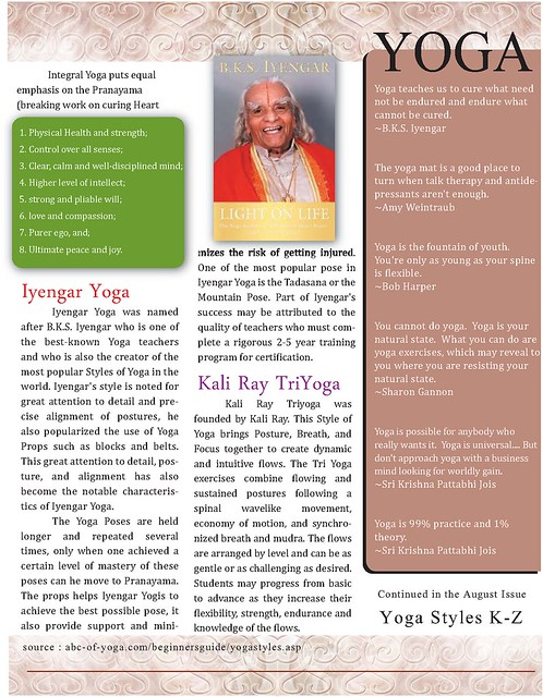OMTimes Magazine : SACREDspace July 1/2 2011: Styles & Practices (pg3)