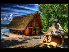 Boathouse (Kemoauc) Tags: lake nikon stuttgart hdr d90 maxeythsee nikond90 kemoauc