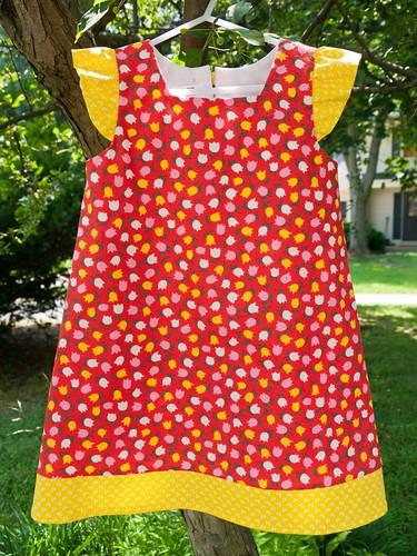 A-line dress, take 2