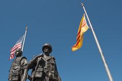 Vietnam War Memorial (InSapphoWeTrust) Tags: california westminster vietnamwarmemorial southvietnam 2011